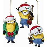 ミニオンズ クリスマス デコレーション ケビン スチュアート ボブ Minion Christmas 並行輸入品