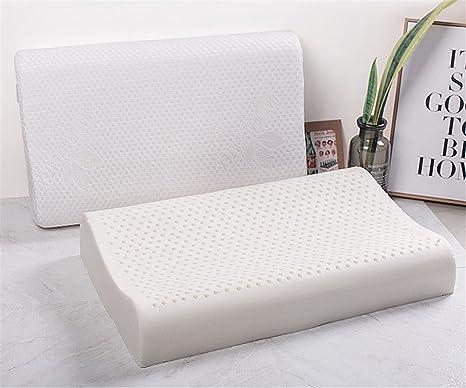 GXSCE Almohadas de látex Natural, Almohada cómoda y Transpirable, Almohada de Cuello de Espuma