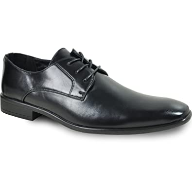 1e597978e Men Dress Shoe King-1 Classic Oxford with Leather Lining - Wide Width