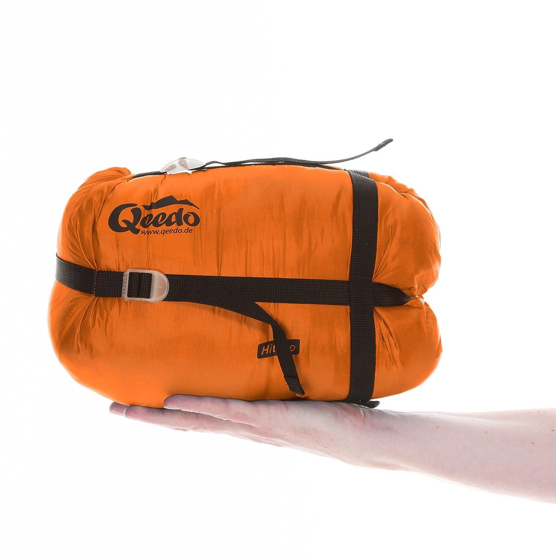2 Estaciones Senderismo y Camping Qeedo Hitazo Saco de Dormir para Trekking