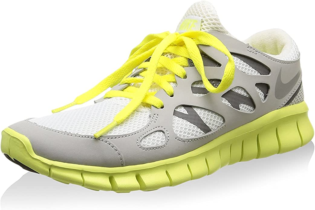 Nike Zapatillas W Free Run +2 Ext Gris/Amarillo EU 36.5 (US 6 ...