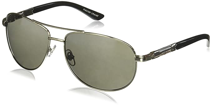 25e092d2ac59 Image Unavailable. Image not available for. Color  Foster Grant Sunday  Drive Aviator Sunglasses ...
