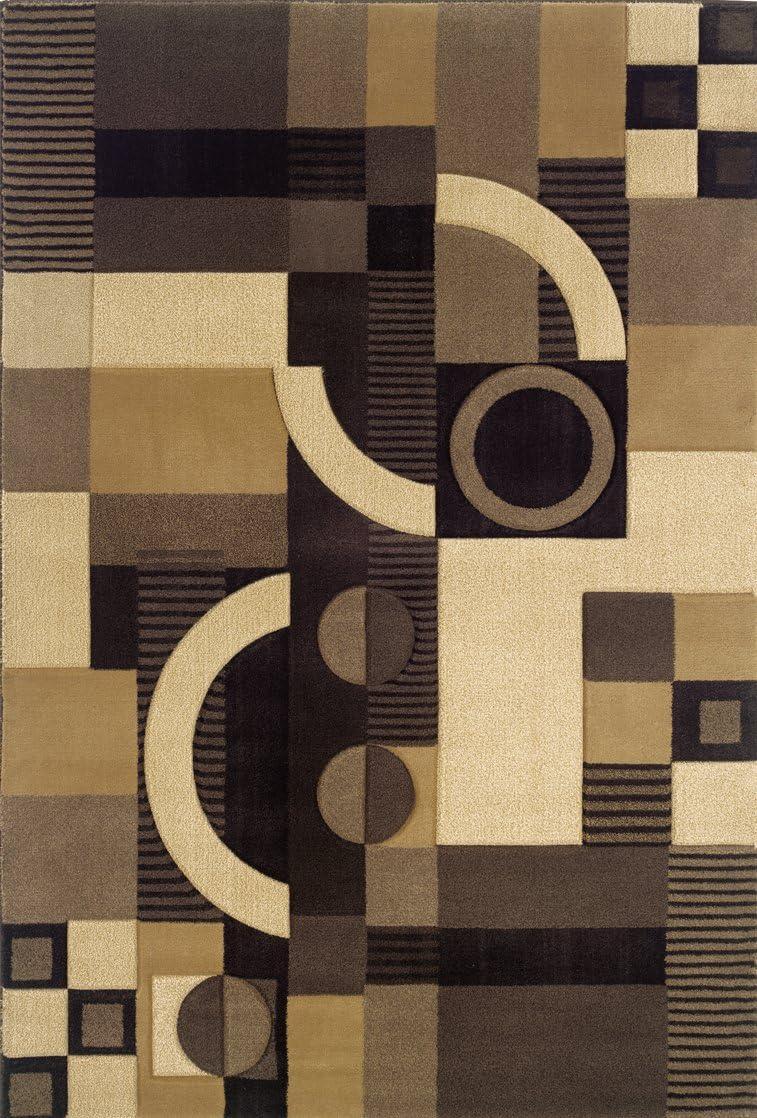 Oriental Weavers Tones 5444J Area Rug, 2-Feet 3-Inch by 7-Feet 9-Inch