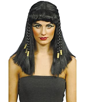 Smiffys - Peluca de Cleopatra para mujer