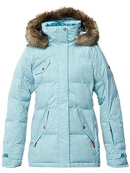 Roxy mujer Quinn chaqueta, color ocean depths, tamaño S: Amazon.es: Deportes y aire libre