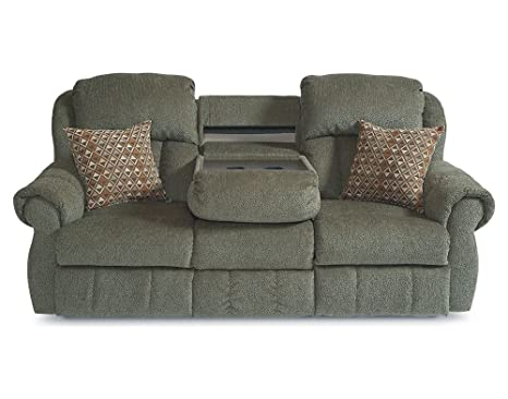 Amazon Com Double Reclining Sofa With Fold Down Tray Table By Lane