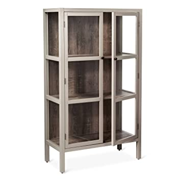 Exceptionnel Hadley 56u0026quot; Library Cabinet With Glass