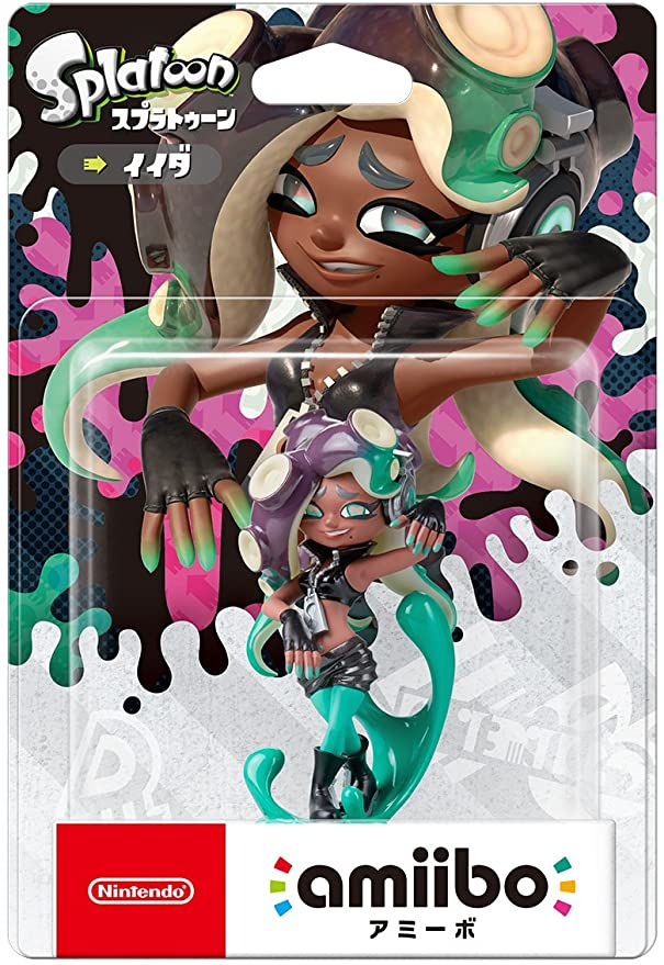 Amiibo Splatoon 2 Nintendo Switch Marina (Japan Import): Amazon.es ...