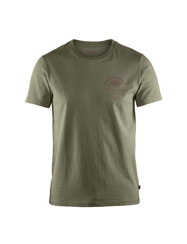 Dark Navy All Sizes Fjallraven Forever Nature Badge Mens T-shirt Long Sleeve