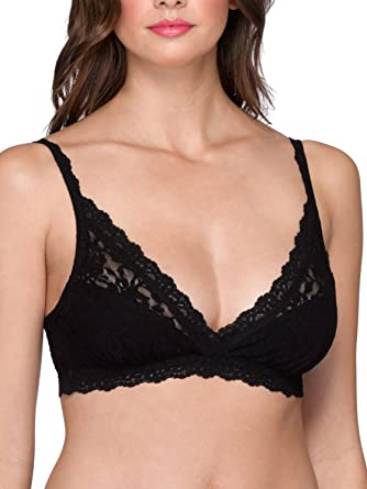 81b7a27796 Hanky Panky Women s Signature Lace Valerie Bralette at Amazon Women s  Clothing store