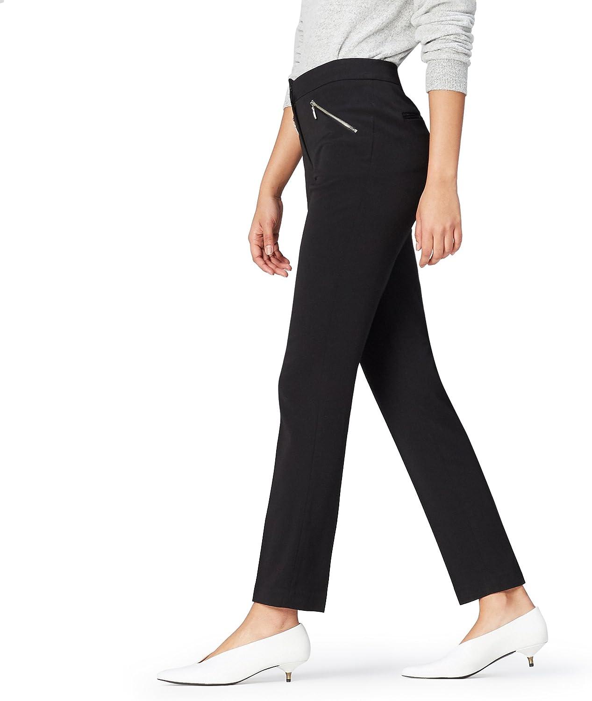 Marca Amazon - find. Pantalones Estrechos para Mujer