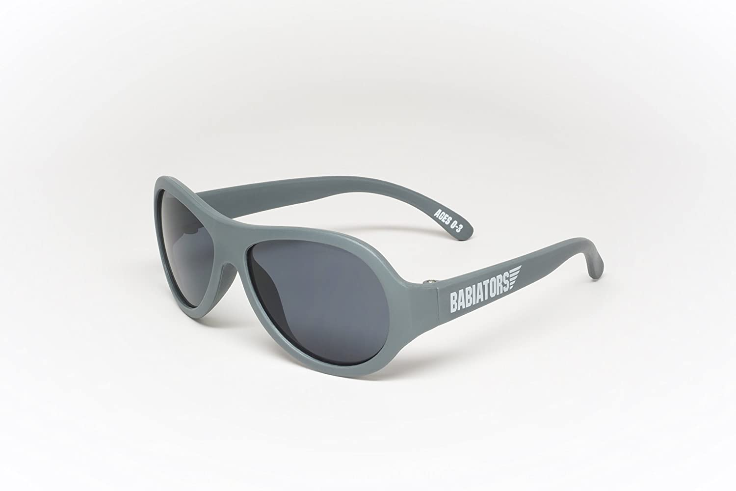 3b467742e8 Amazon.com  Babiators Little Boys  Sunglasses - Galactic Gray - 3-7Y  Baby