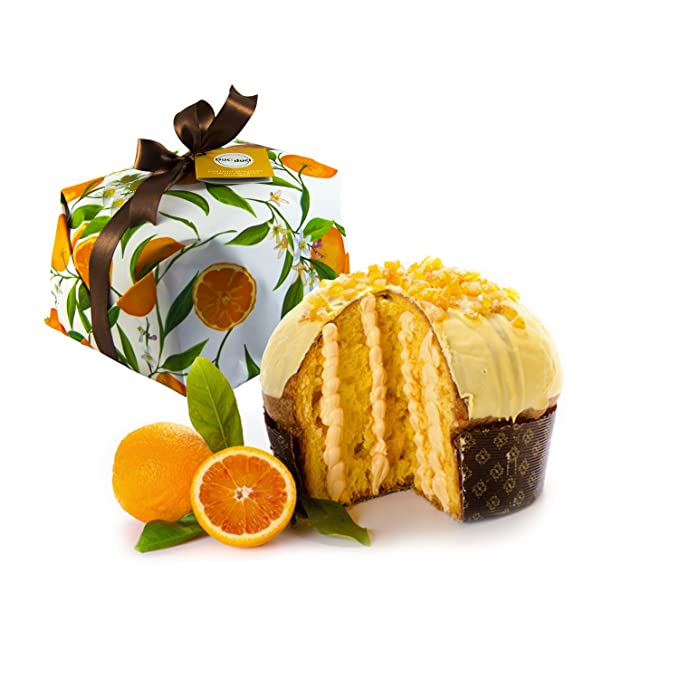 500gr panettone artesanal con naranja rellena de crema de naranja - Duci duci - pastelería artesanal