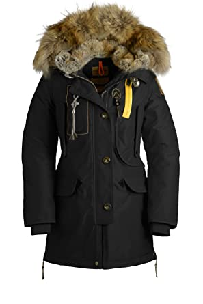 Parajumpers KODIAK Jacket - BLACK - Womens - XL at Amazon Women's Coats Shop