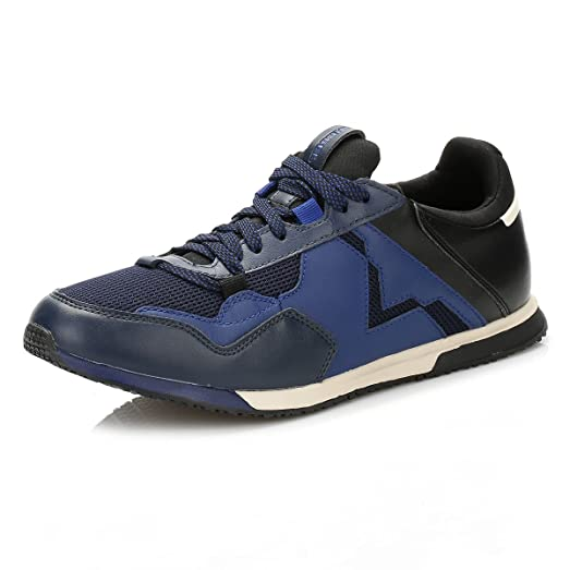 Diesel Mens Blue/Black S-Furry Remmi V Trainers-UK 6.5