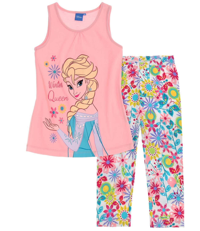 Disney Frozen - Il regno di ghiaccio Ragazze Maglietta e Leggins 2016 Collection - Rosa