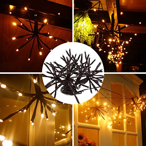 TOPCHANCES Decorative Lights String, Christmas Indoor&Outdoor DIY Fairy LED  Balls String Lights Water Resistant Fairy Lamp for Garden, Wedding,