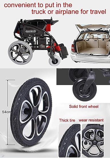 Amazon.com: EMOGA Silla plegable compacta de rueda de ayuda ...
