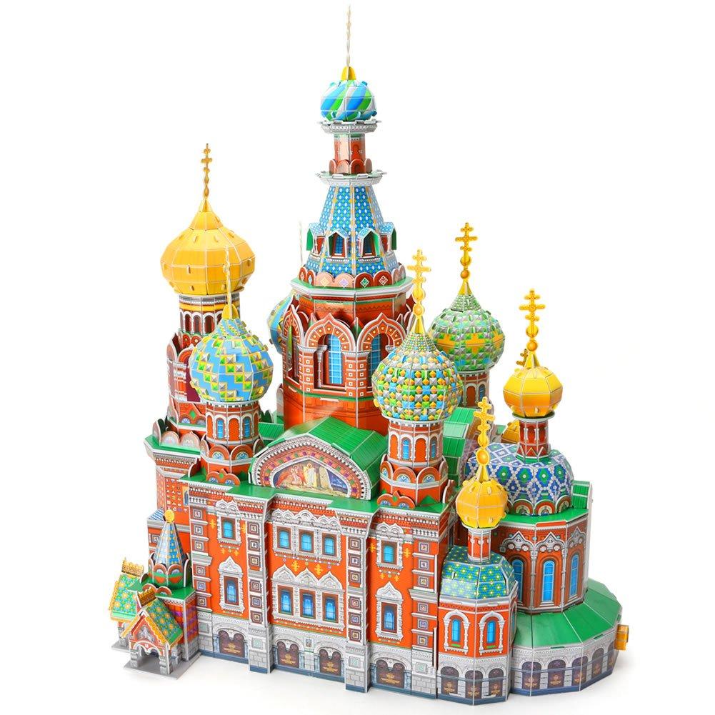 CubicFun World's Great Architectures Buckingham Palace DIY 3D Puzzle Model Gift Decoration, 72 Pieces CubicFun Toys Industrial Co. Ltd.
