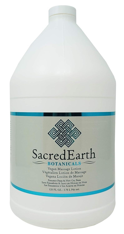 Sacred Earth Botanicals Vegan Massage Lotion, Unscented