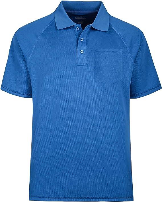 MOHEEN Hombres Camisa De Polo Camisas Big de absorción de ...