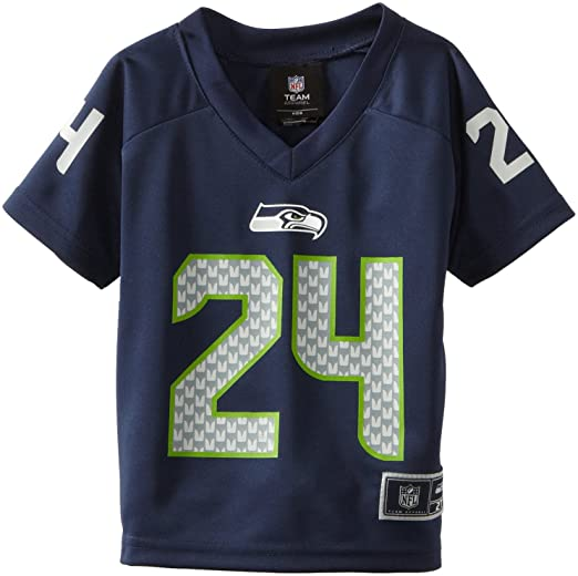 wholesale dealer 0f0a7 ed569 NFL Seattle Seahawks Marshawn Lynch Toddler Player Replica Jersey