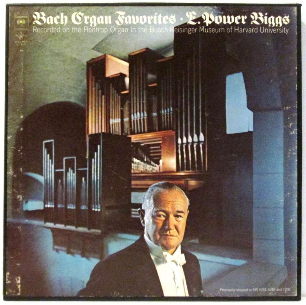 Bach, E  Power Biggs, Organ E  Power Biggs - Bach Organ
