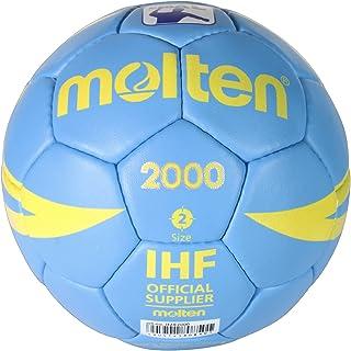 Molten EBB7 Ballon de Basket-Ball Bleu Clair Taille 2