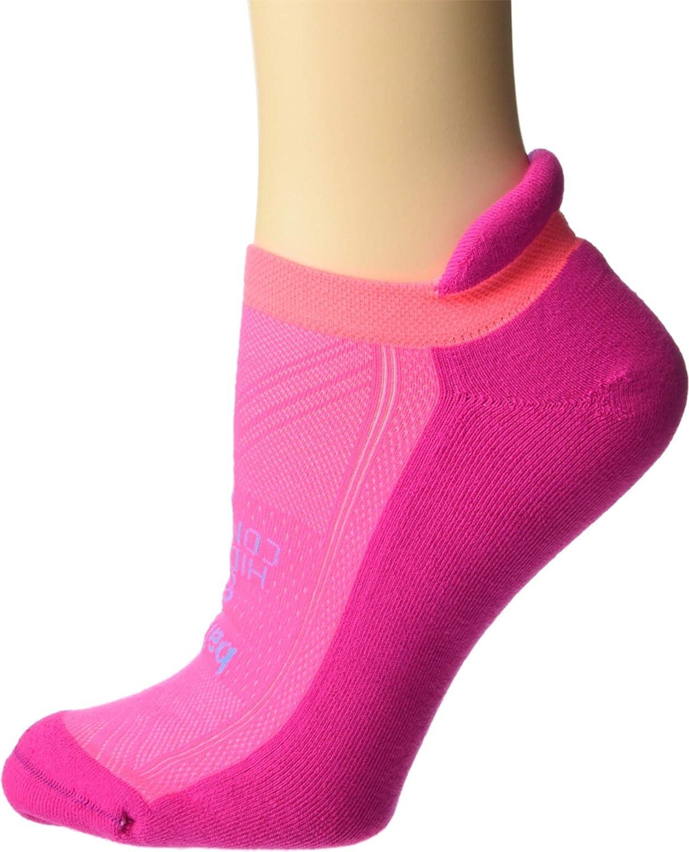 balega Hidden Comfort Electric Pink/Sherbet Pink SM (US Women's 6-8)