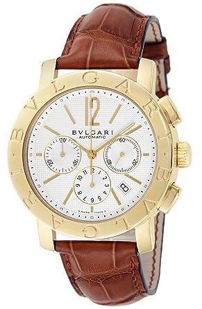 a185c5330d41 [ブルガリ]BVLGARI 腕時計 ブルガリブルガリ ホワイト文字盤 自動巻 クロノグラフ BB42WGLDCH メンズ