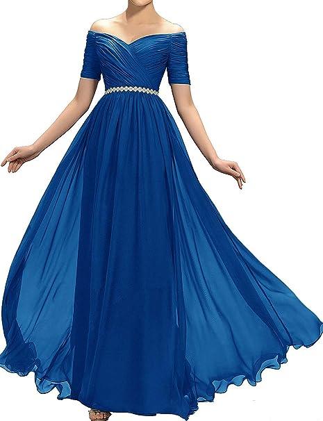 0ff757497 JINGDRESS Vestido de Media Mangas para Mujer para Dama de Honor ...