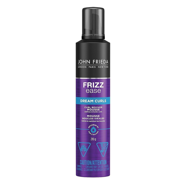 JOHN FRIEDA Frizz Ease Curl Reviver Mousse, 210g Kao