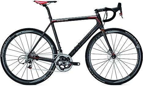 Bicicleta de carreras Focus Izalco Max Disc Red 22 velocidades SRAM Red Carbon, altura del cuadro: 52; colores: carbono, rojo, blanco.: Amazon.es: Deportes y aire libre