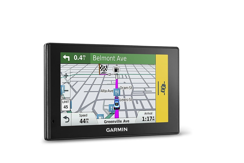 Amazon com garmin driveassist 51 na lmt s w lifetime maps traffic dash cam camera assisted alerts lifetime maps traffic live parking