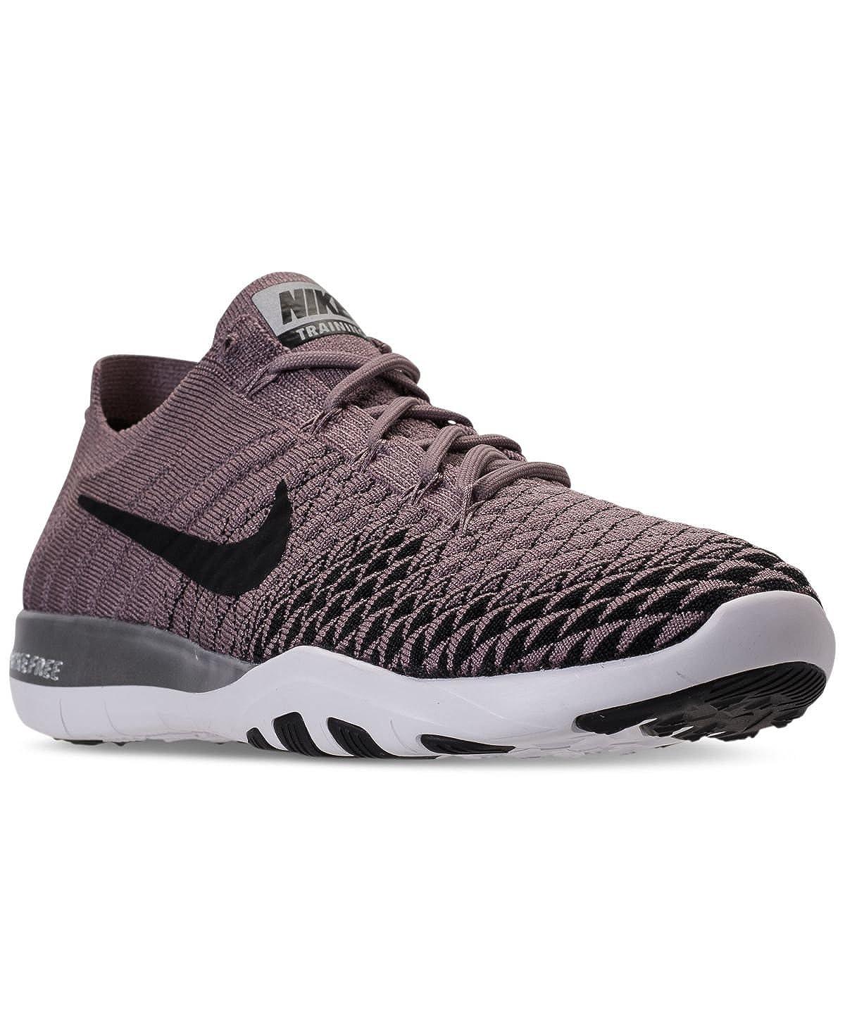 buy online 873be f14bb Amazon.com   Nike Free TR FK 2 Bionic 904654-200 Taupe Grey Black-Chrome  Women s US 9   Road Running