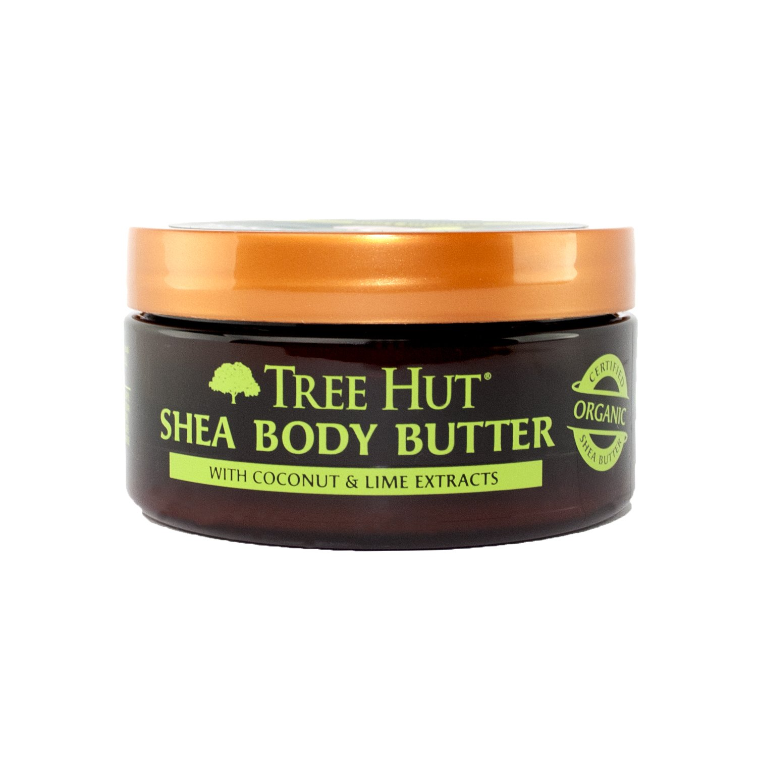 Tree Hut 24 Hour Intense Hydrating Shea Body Butter, Coconut Lime, 7 Ounce
