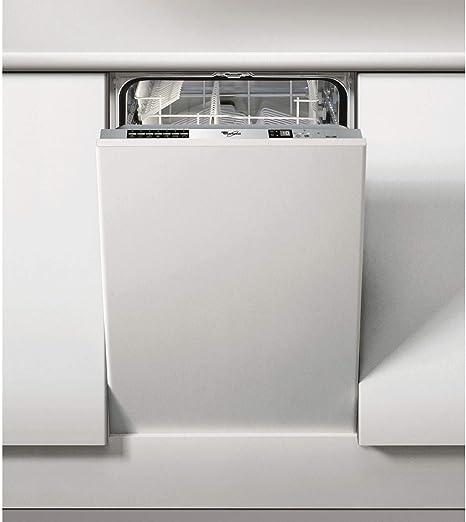 Whirlpool adg211 45 cm de ancho Slimline 9 lugar lavavajillas ...