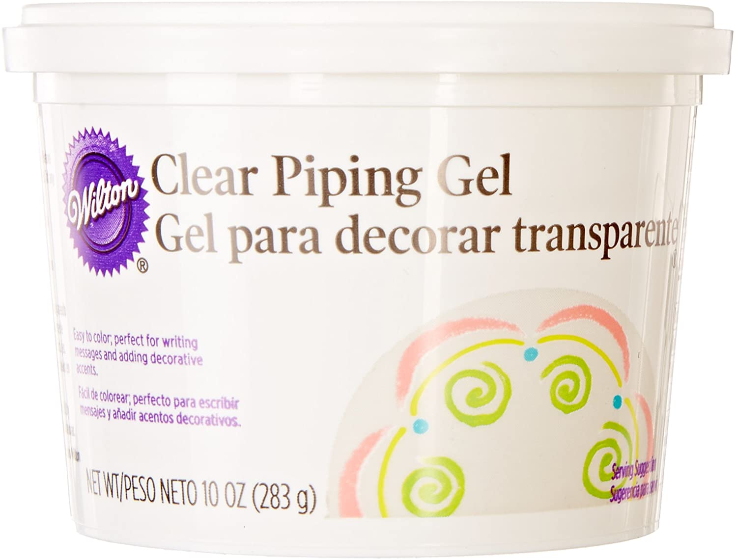 Wilton Clear Piping Gel, 10-Ounce