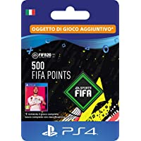 FIFA 20 Ultimate Team - 500 FIFA Points DLC - Codice download per PS4 - Account italiano