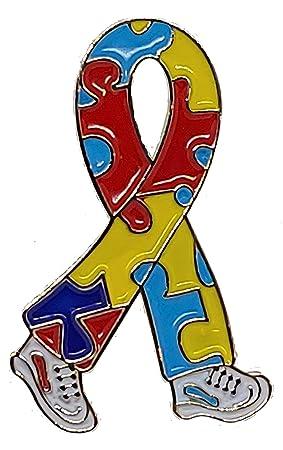 b6f7949bc25 Autism Walking Awareness Lapel Pin