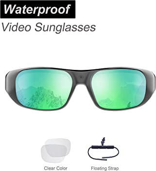 OhO 32GB Ultra 1080P Full HD Waterproof Sports Action Camera Sunglasses