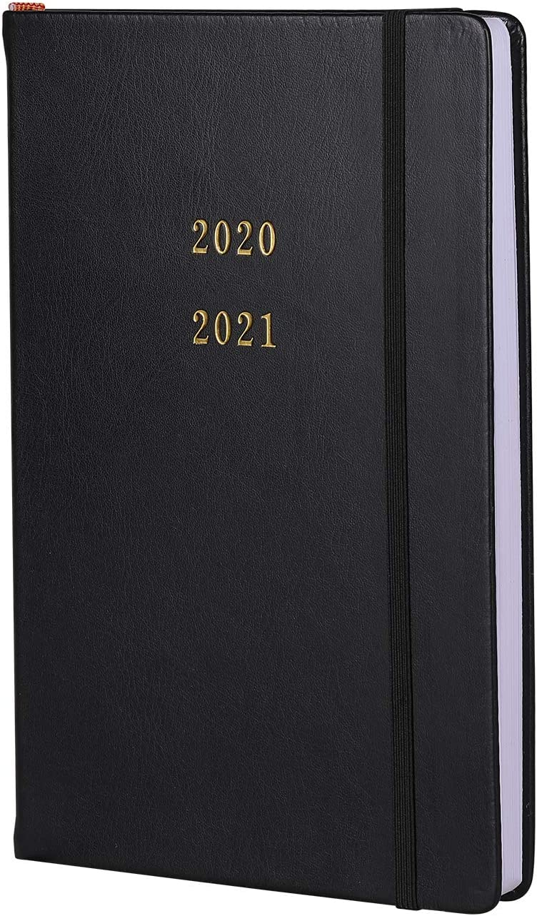 2020-2021 Yearly Monthly Weekly Planner Jan 2020 - Jul 2021Business and student notebook diary