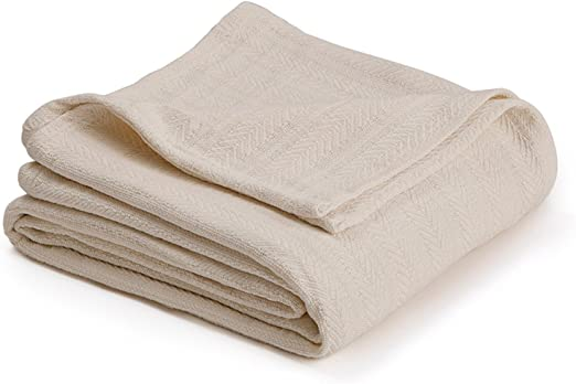 Breathable All Season for Homvare Super Soft Premium King Cotton Blanket Throw