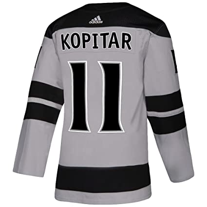 1a4cc3055a7 adidas Los Angeles Kings Anze Kopitar Authentic Alternate Pro Jersey (50/M)