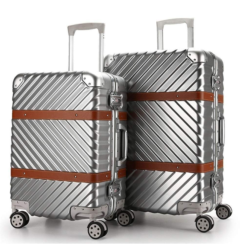 8b1aec6cd2a6 Amazon.com: YXNN 2 Pack Spinner Luggage - TSA Lock Design Trolley ...
