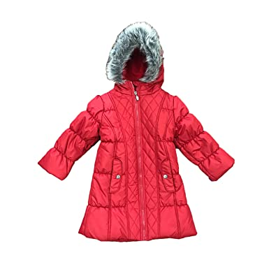 904bf00355ee Amazon.com  Hawke   Co. Little Girls  or Toddler Girls  Quilted ...