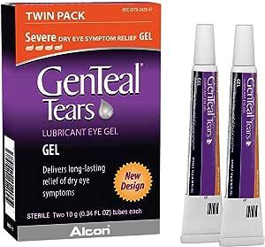 GenTeal Lubricant Eye Gel, Severe, 2 Pack, 0.34-Ounces each