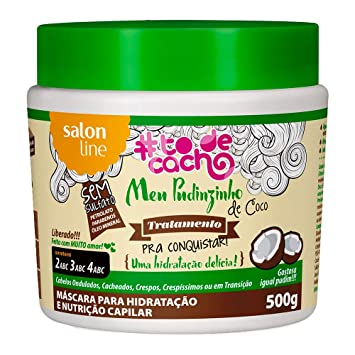 Linha Tratamento (#ToDeCacho) Salon Line - Meu Pudinzinho De Coco Pra Conquistar {Uma...