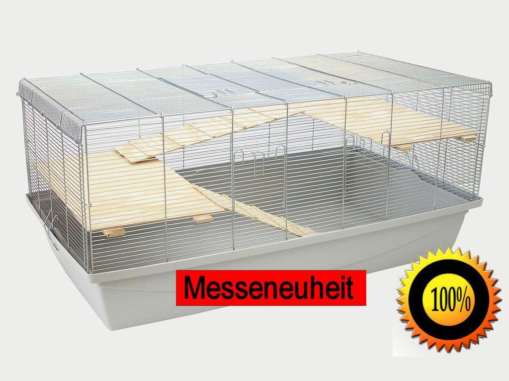 1m Käfig mit 6mm Gitterabstand Hamsterkäfig Mäusekäfig Rattenkäfig+ ...