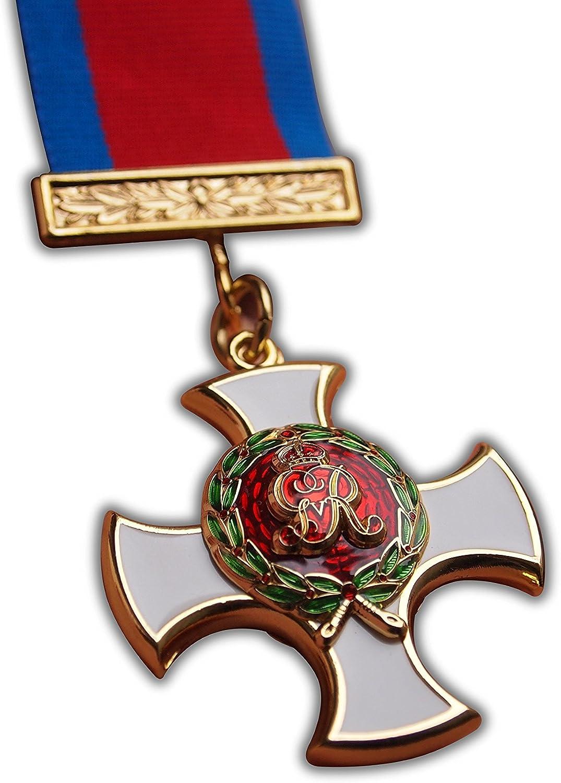 Orden de los servicios Distinguidos DSO GRV George V Elite Medalla Militar tamaño completo Copia: Amazon.es: Deportes y aire libre